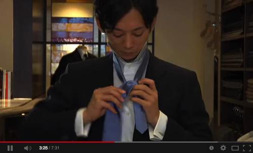 プロによるネクタイの結び方 YouTube